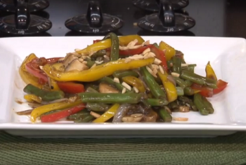 Green Bean Stir Fry Recipe