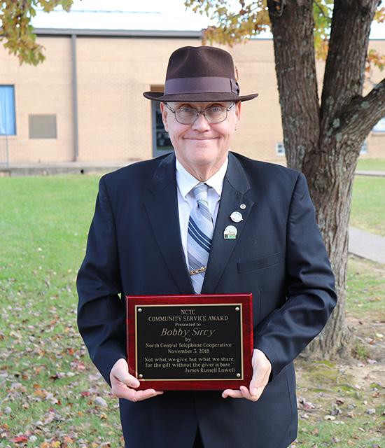 Bobby Sircy, Community Service Award winner