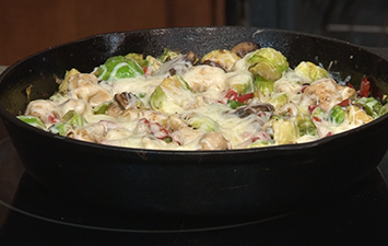 Chicken & Brussels Sprouts 1-Pan Meal