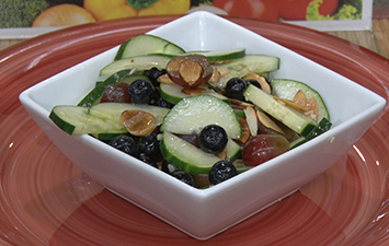 Sweet and Savory Cucumber Salad