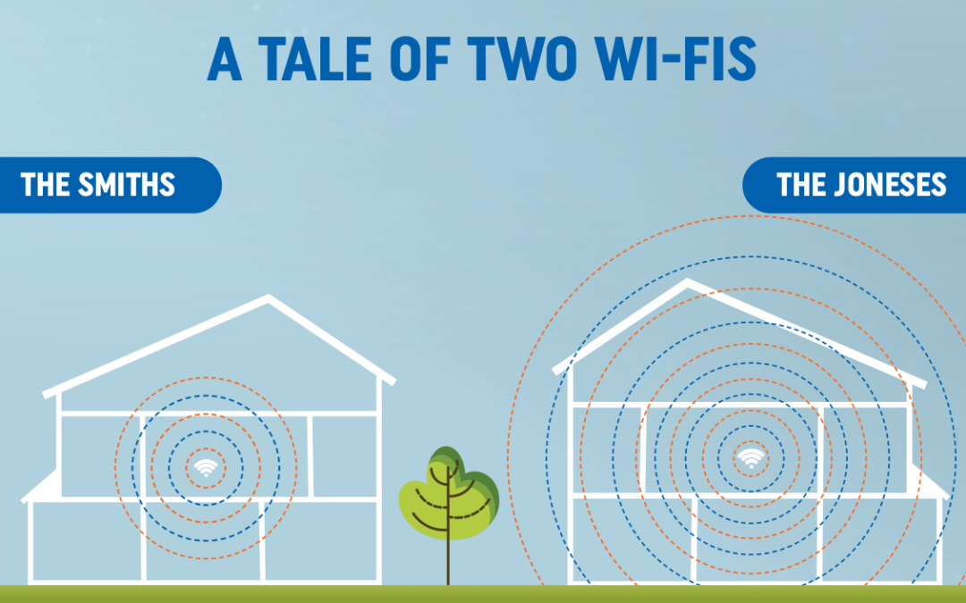 A tale of two Wi-Fi's