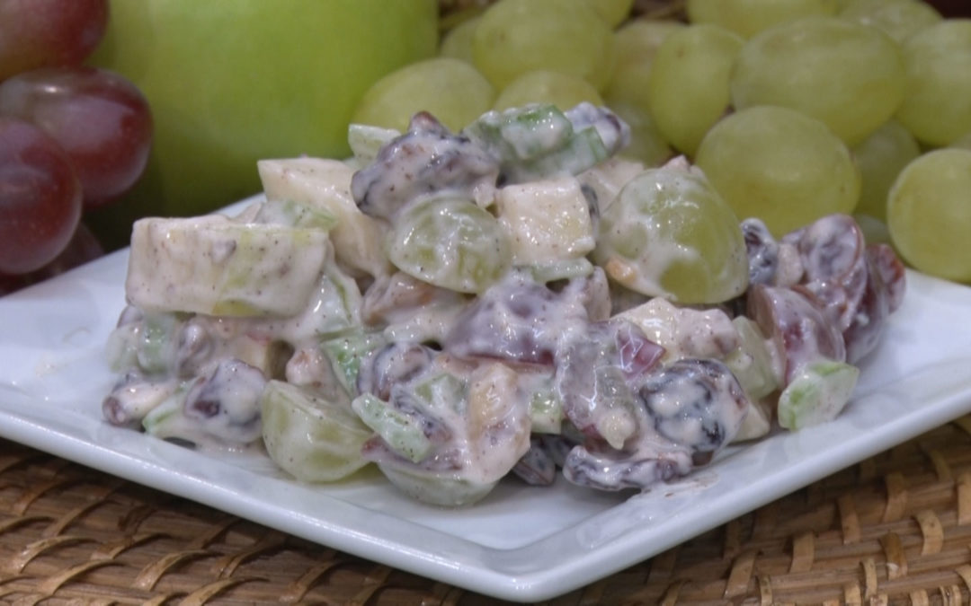 Apple Cranberry Waldorf Salad Recipe