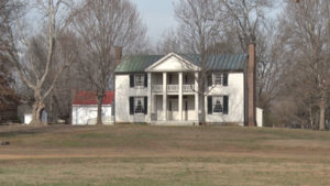 Civil War mansion