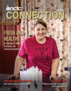 Woman on cover of NCTC Connection magazine May June 2021