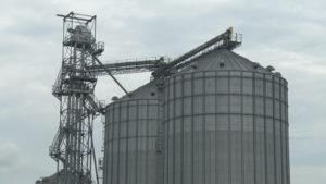 large grain bin