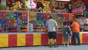 carnival game at a fair
